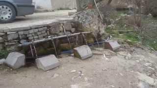 Manisa Demirci Köyü Yaralı Pınar Şifalı Su
