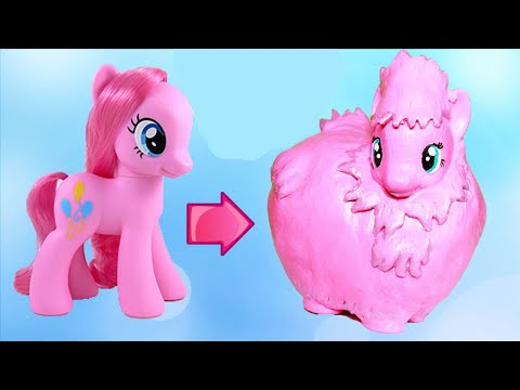 Custom My Little Pony FLUFFLE PUFF Step By Step DIY Tutorial Easy MLP | Toy Caboodle