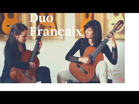Duo Françaix - I. Selder and E. Lenhartová - Danzas Españolas Op. 37 - No. II Oriental by Granados