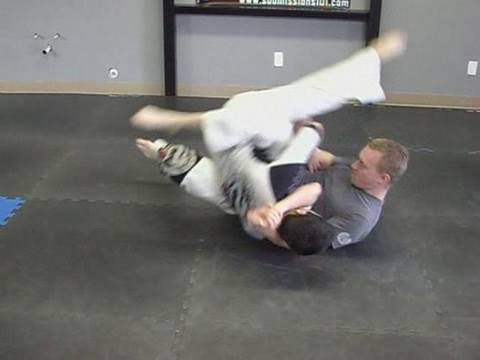 Jiu Jitsu Sweep From Guard: Switch Back Sweep Image 1