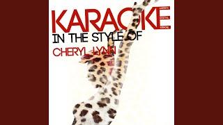 Encore Karaoke Version