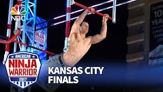 Lance Pekus at the Kansas City City Finals - American Ninja Warrior 2017