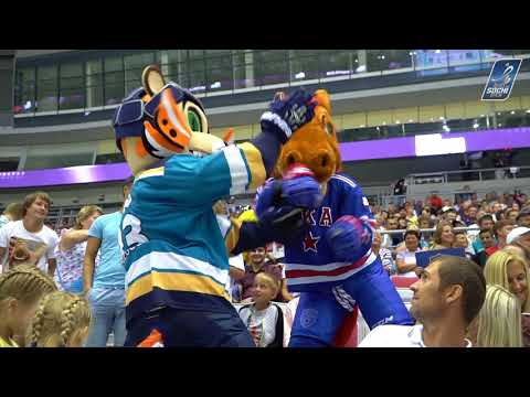 Лео VS Конь-Огонь: Баттл на Sochi Hockey Open 2018
