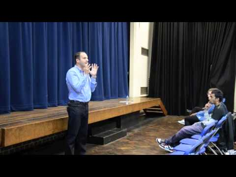 Martin Lewis talk at Woodhouse College - Student Finance - June 2013