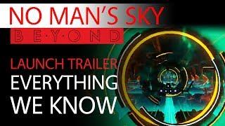 No Man's Sky Beyond Update News | Launch Trailer | Everything We Know | In-Depth Analysis