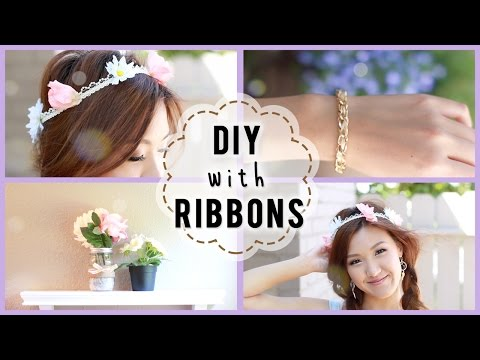 Easy Ribbon DIY! | ilikeweylie