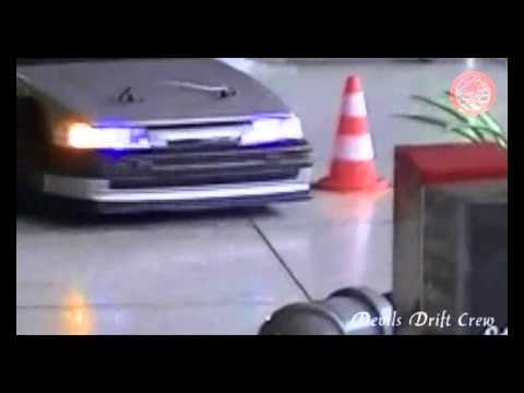 RC Drift countersteer skills