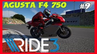 RIDE 3 Career Mode Part 9 | SPECIAL EVENT AGUSTA F4 750 | PS4 PRO Gameplay
