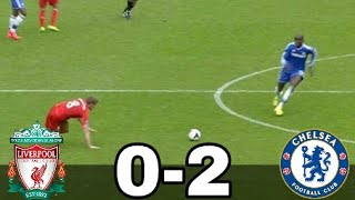 Liverpool vs Chelsea 0-2 2013/14 All Goals Extended Highlights w/English Commentary HD