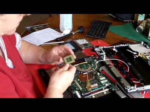 HP nc6120 Laptop CPU & Memory Changing Upgrading