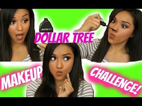 Dollar Tree Makeup Challenge | TAG