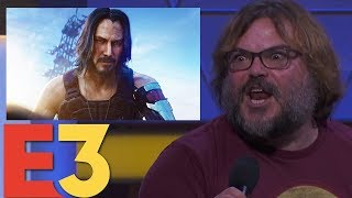 Jablinski Games Reacts to Cyberpunk 2077, E3 2019 Games, and Much More! | Jack Black Reacts to E3