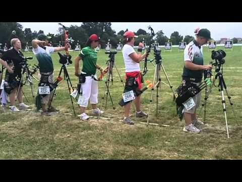 World Archery Championships Torino 2011 qualifica compound.avi