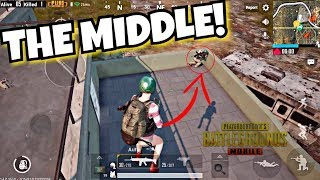 """How to win in PUBG MOBILE """"The Middle"""" TIPS!"""