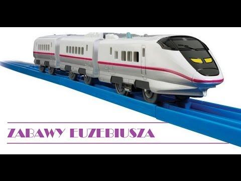 Kolejka Tomica 2 zestawy - VLOG. Najlepsze zabawki dla dzieci. Pociągi (trains, cars, toys) film PL