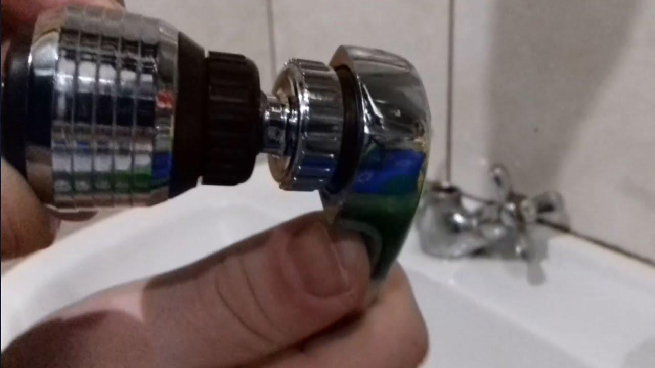 Аэратор для смесителя для экономии воды своими руками 50