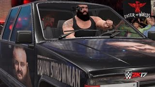 "WWE 2K17: Braun 3:16 says ""I'M NOT FINISHED WITH YOU!"" feat. Roman Reigns! RAW 2017 - PC Mods"