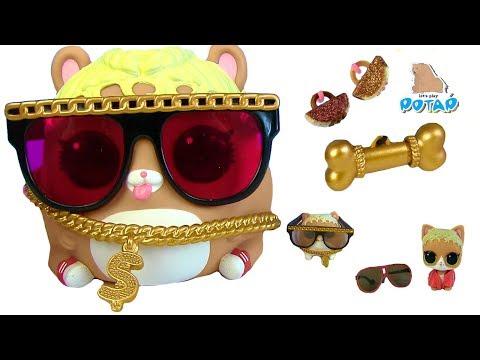 Мультик Куклы Лол! Гигантский Шар -Питомец Лол Декодер! Видео для детей BIGGIE LOL PETS