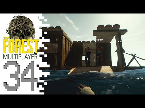 The Forest (Multiplayer) - EP34 - Houseboat!