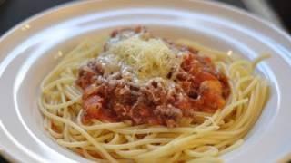 recette des spaguettis à la bolognaise par HervéCuisine