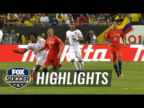 Colombia vs. Chile  | 2016 Copa America Highlights