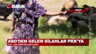 PYD'DEN PKK'YA ABD SİLAHI VE SIĞINAK!