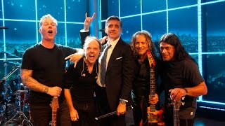 Metallica Week on 'The Late Late Show with Craig Ferguson' (2014) [Full Week]