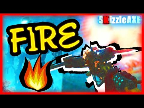 FOR DLC 5 'FIRE STAFF' ORIGINS Tutorial - How To Build FIRE Staff & Upgrade (Zombies Chronicles DLC5