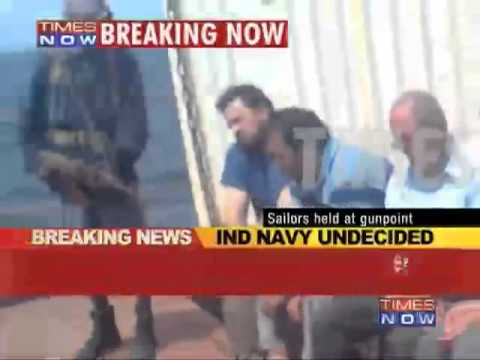 Pakistan Navy To Rescue Indian Sailors