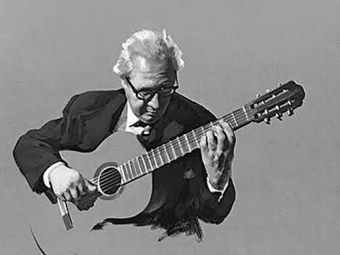 Andres Segovia - Double - Violin Partita 1