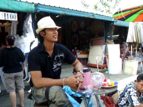 Chatuchak weekend market bangkok.AVI