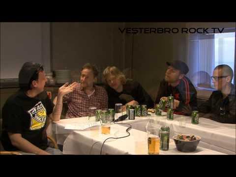 Vesterbro Rock Radio fik en snak med Magtens Korridorer på Oslo båden