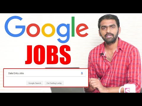 Online Jobs in Google || Top Google Jobs || SumanTV Money