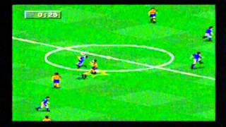 Fifa 96 Sega Megadrive Gameplay - Classic Retro Game Room