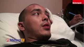 Pemuzik SonaOne cedera dipukul