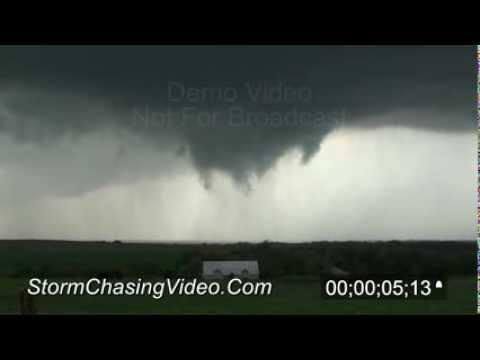 4/14/2012 Timken, KS Tornado B-Roll Footage