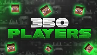 350 PLAYER UHC HIGHLIGHTS!! ( Minecraft UHC Highlights w/ TheCampingRusher )