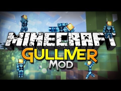Minecraft Mod Showcase: Gulliver - Ensmallen Yourself!