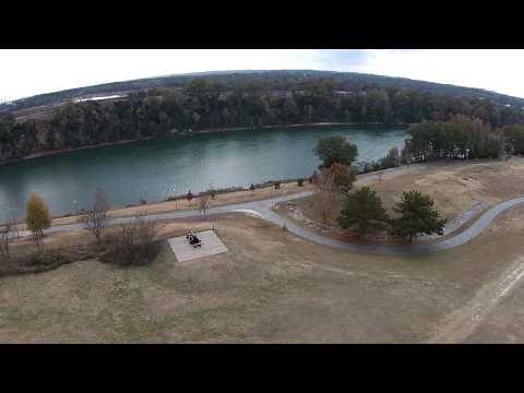 The National Civil War Naval Museum - Aerial - Phantom 2 Vision+