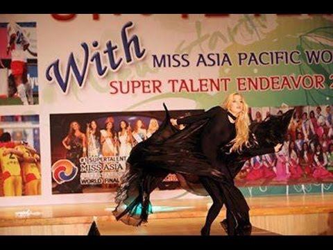 Talent Show Miss Asia Pacific World Super Talent 2013