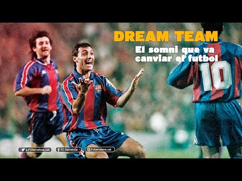 """FC Barcelona - Dream Team: sueño que cambió el fútbol"""""""