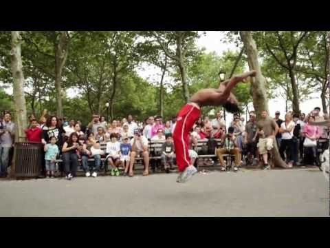 BBOYS TATA &amp; HIS BROTHERS Acrobatics Bboying Hitting NYC | YAK FILMS