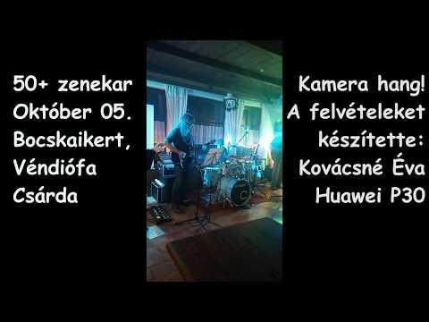 50+ zenekar, 2019.10.05.Véndiófa Csárda (Bocskaikert)