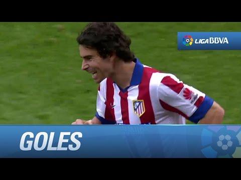 Todos los goles de Atlético de Madrid (3-1) Málaga CF - HD