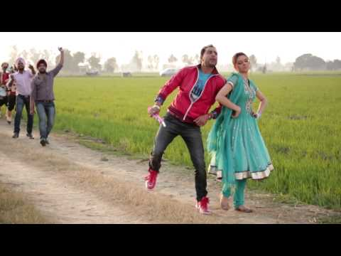 Geeta Zaildar on Shooting | Peepni | Punjabi Movie