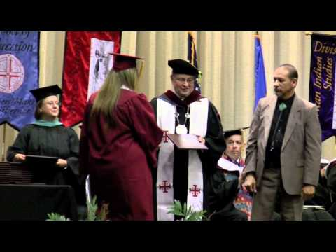 Bacone College 2012 Graduation
