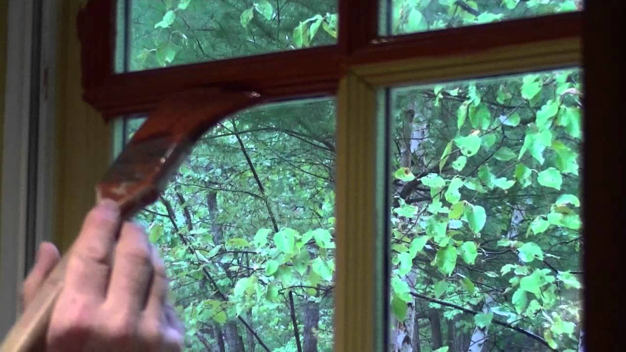 How to repaint a window part muntin bars youtube