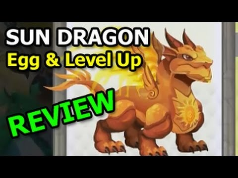 SUN DRAGON Dragon City Egg and Level Up Fast Review