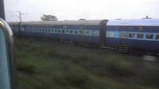 Very Rare Race Between Two Trains Ajmer Sealdah Express And JMP Express At Very High Speed!!!