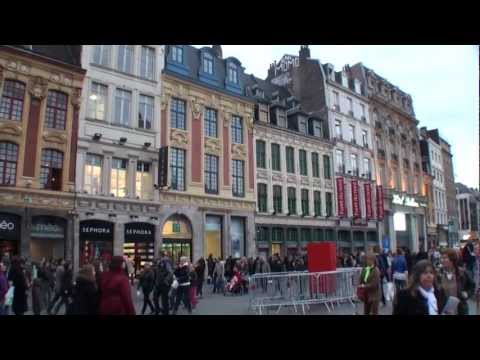 Lille - Francia / France  - Centre ville - City tour -Turismo, tourism, travel, tourisme, visit